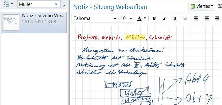 Unleserliche Handschrift? Kein Problem!