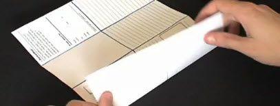 Origami-Notizbuch für Evernote - selbst gemacht