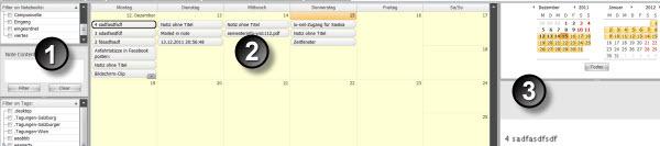 Tusk Tools - Ein Kalender für Evernote