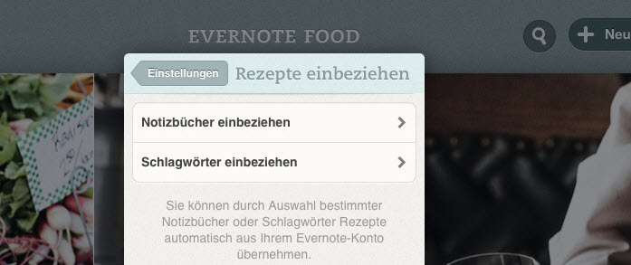 food-auswahl