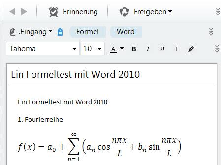 word-formeln