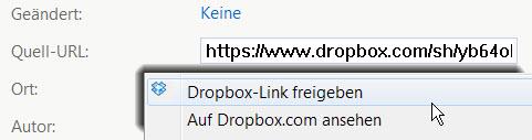 dropbox-verbinden