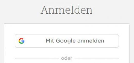 google-anmeldung